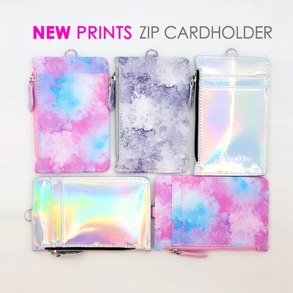 New zip cardholder