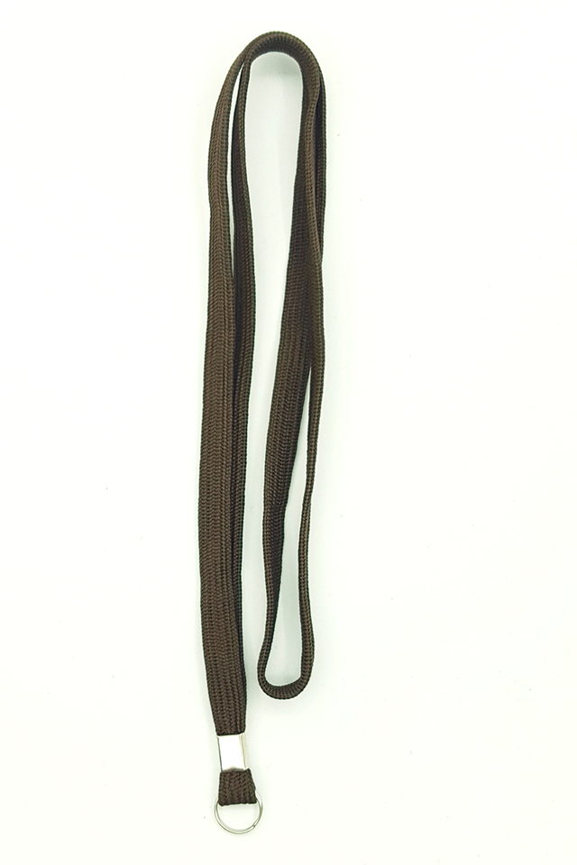 Brown Basic Lanyard