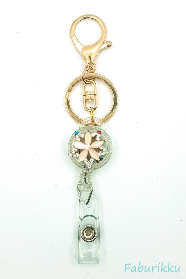 Diamond Star Hook On Badge Reel