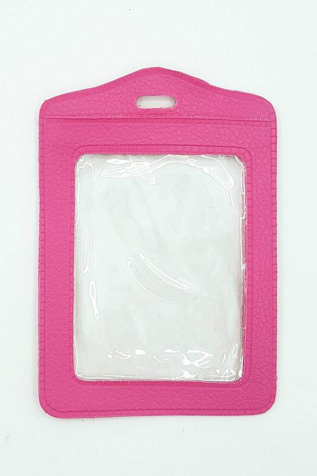 Dk Pink Basic Card Portrait
