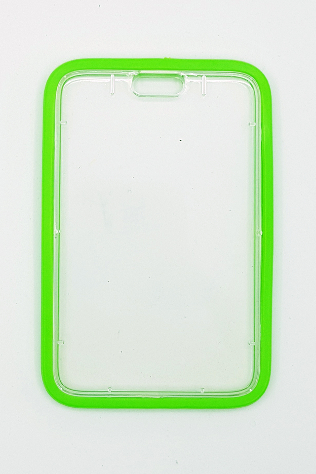 Green Silicon Hardcase Deluxe Card Portrait
