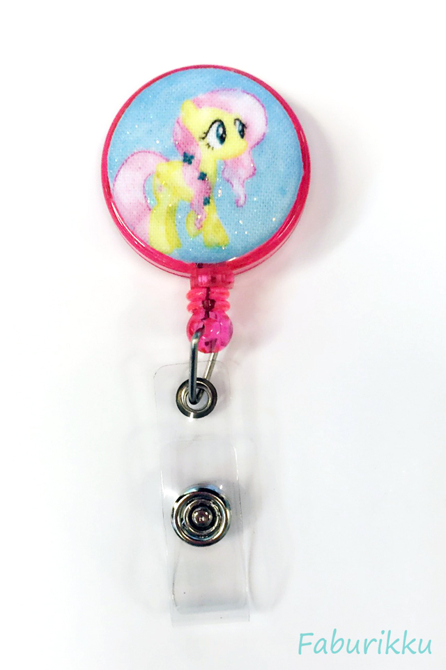 My Little Pony Pink Clip-On Badge Reel