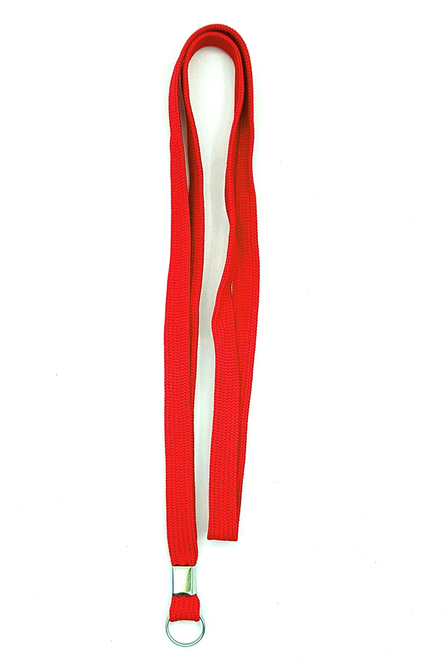 Red Basic Lanyard