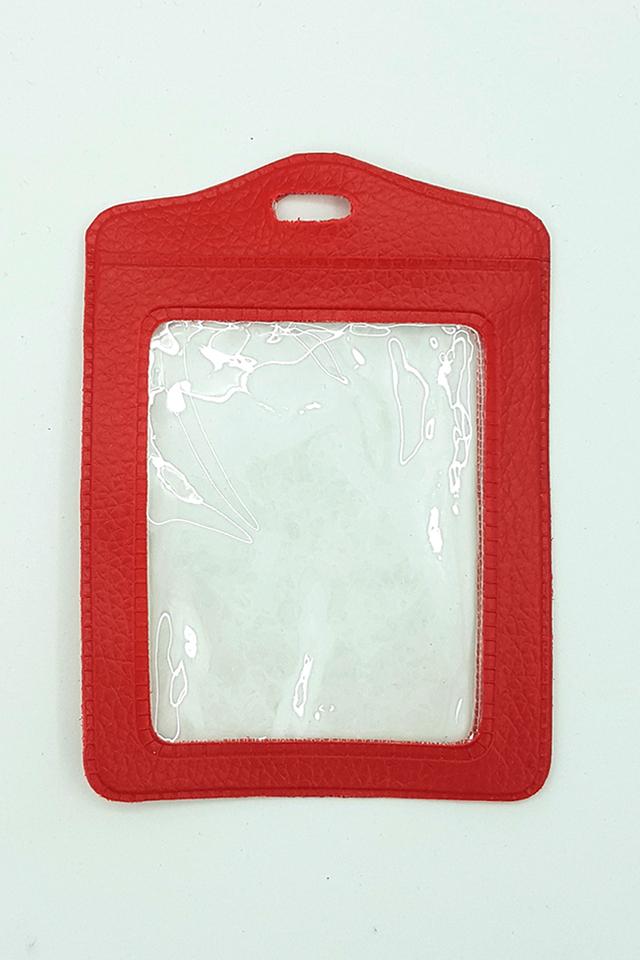 Red Basic Card Portrait