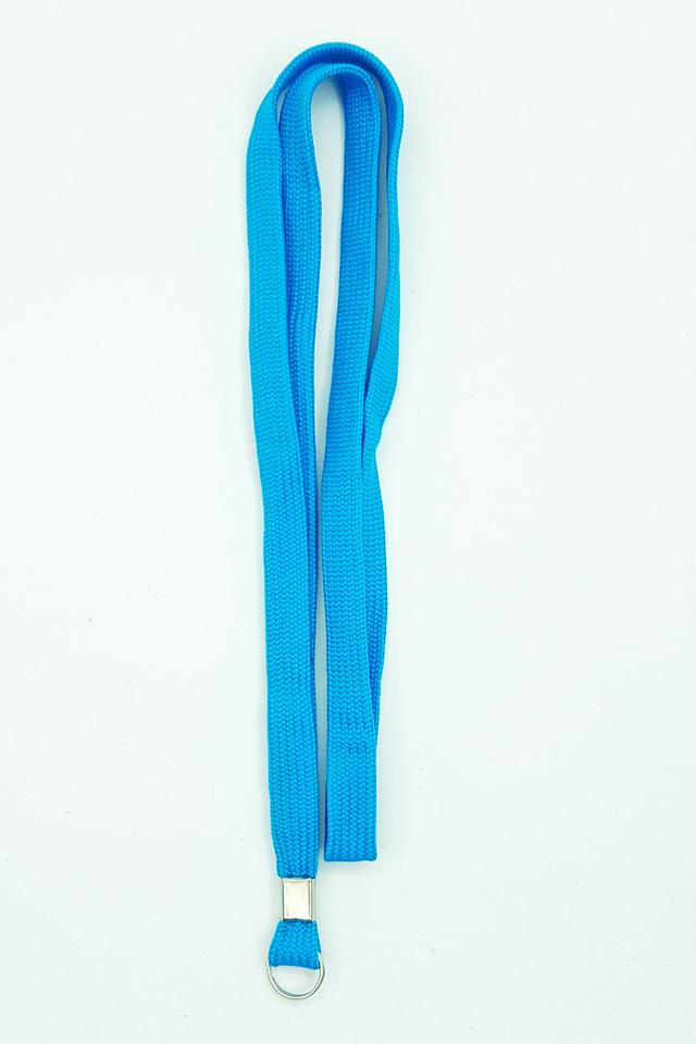 Turquoise Basic Lanyard
