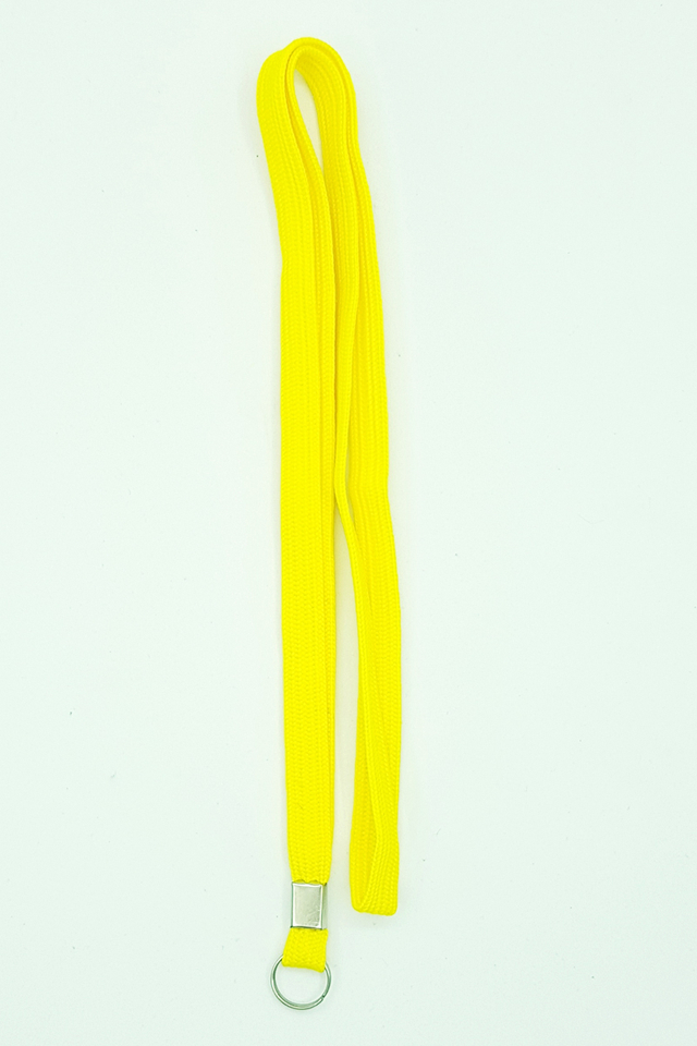 Yellow Basic Lanyard