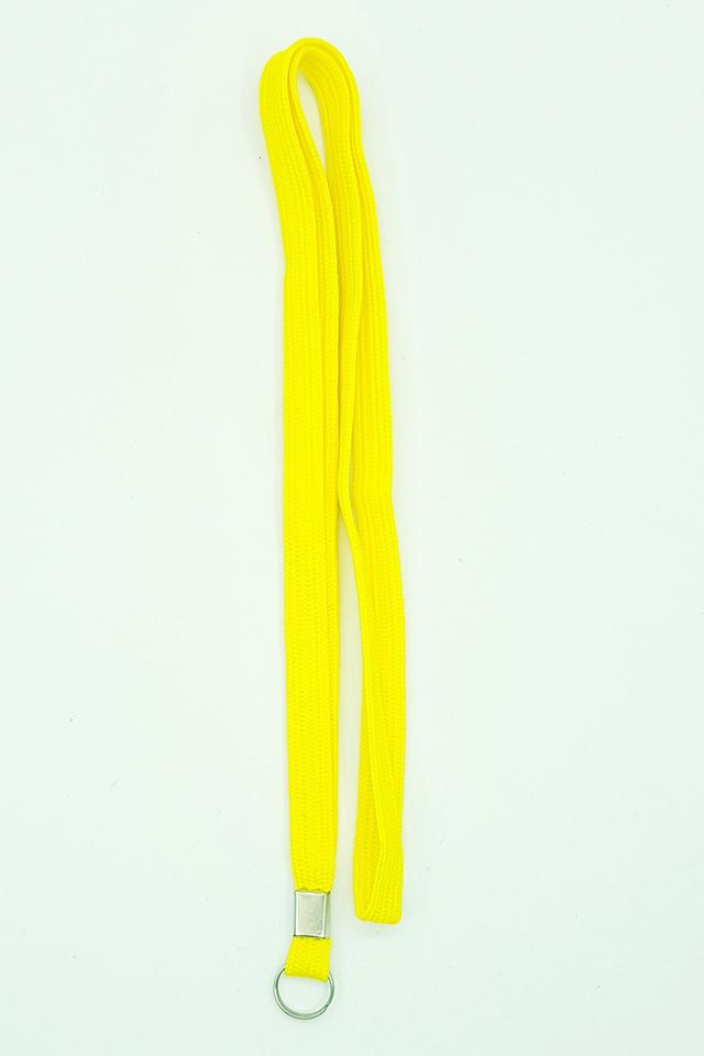 Yellow Basic Lanyard