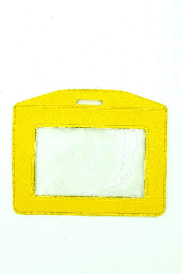 Yellow Basic Card Landscape