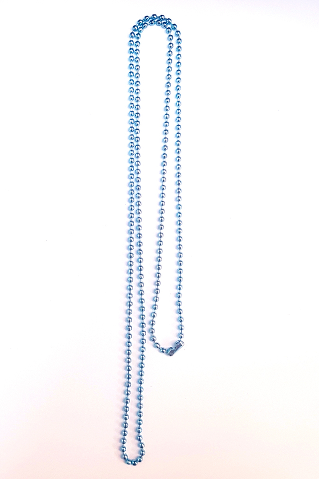 Blue Chain Deluxe Lanyard