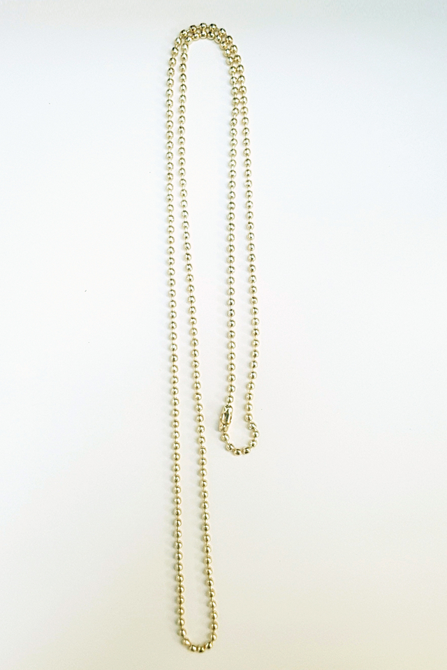 Gold Chain Deluxe Lanyard