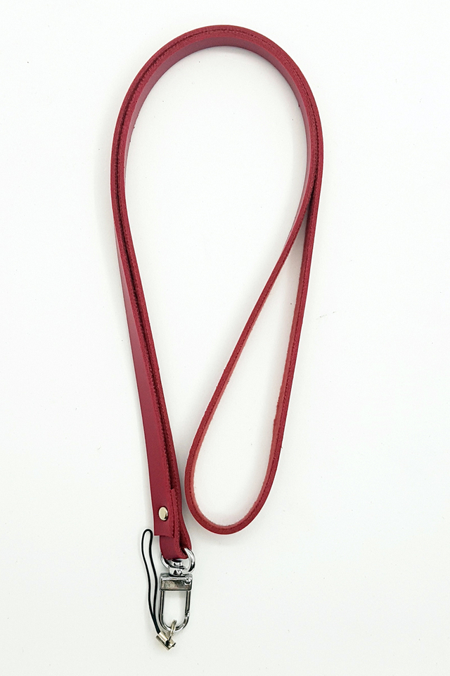 Red Soft Deluxe Lanyard