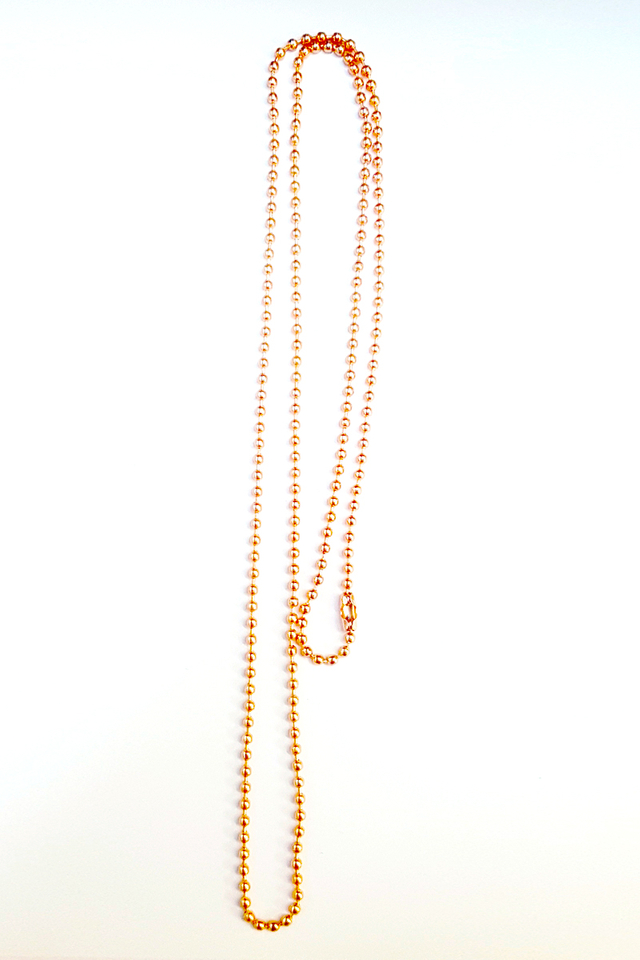 RoseGold Chain Deluxe Lanyard