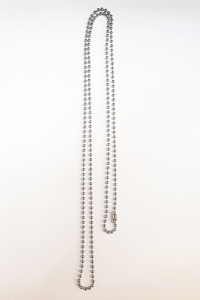 Silver Chain Deluxe Lanyard