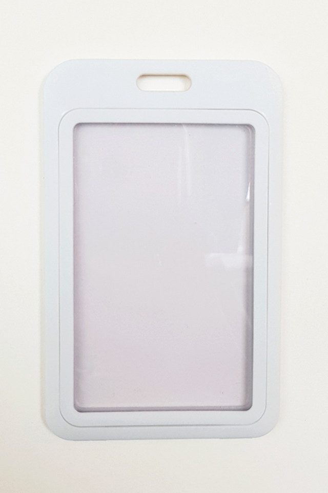 White Basic Hard Card Portrait
