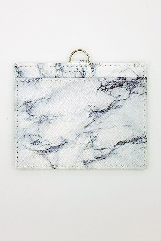 White Marble Print Deluxe Landscape