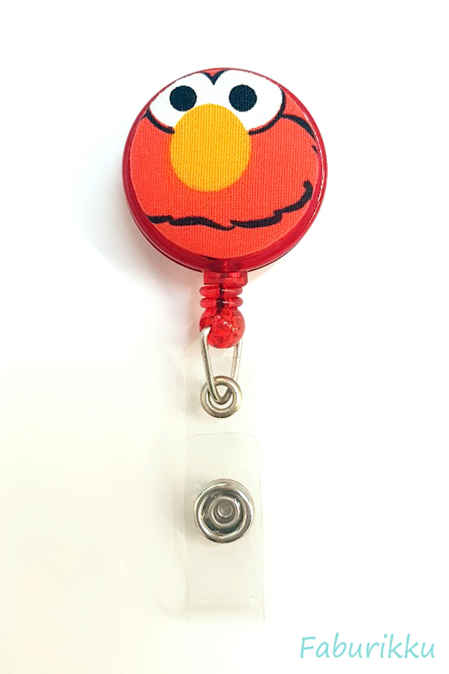 Elmo RedGrump Clip-On Badge Reel