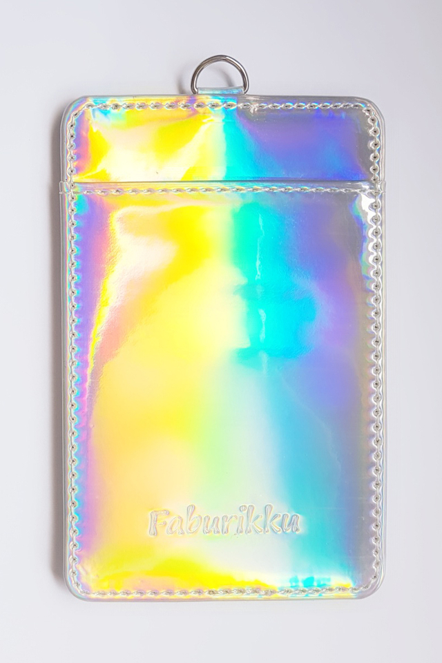 Ver. 2 Silver Hologram Deluxe Card Portrait
