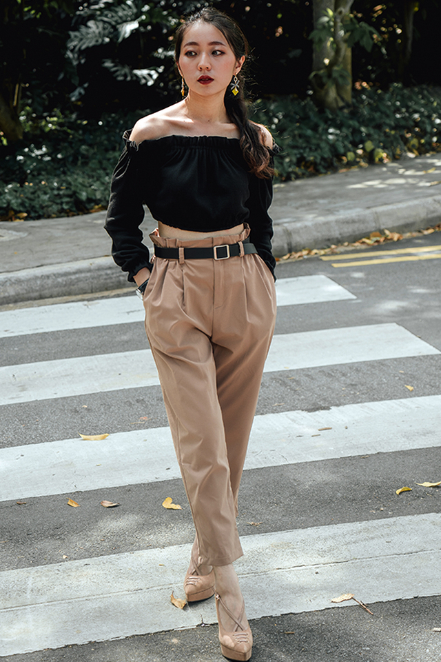 In Vogue Pants with Belt (5 Colours)