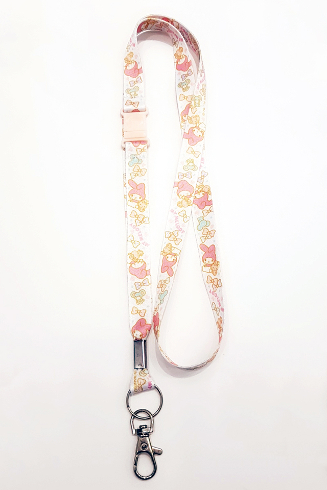 My Melody Soft Nylon Deluxe Lanyard