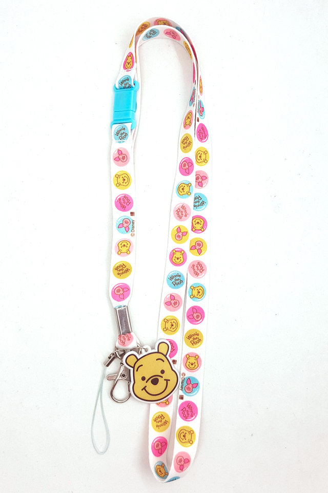 Winnie The Pooh Soft Nylon Deluxe Lanyard