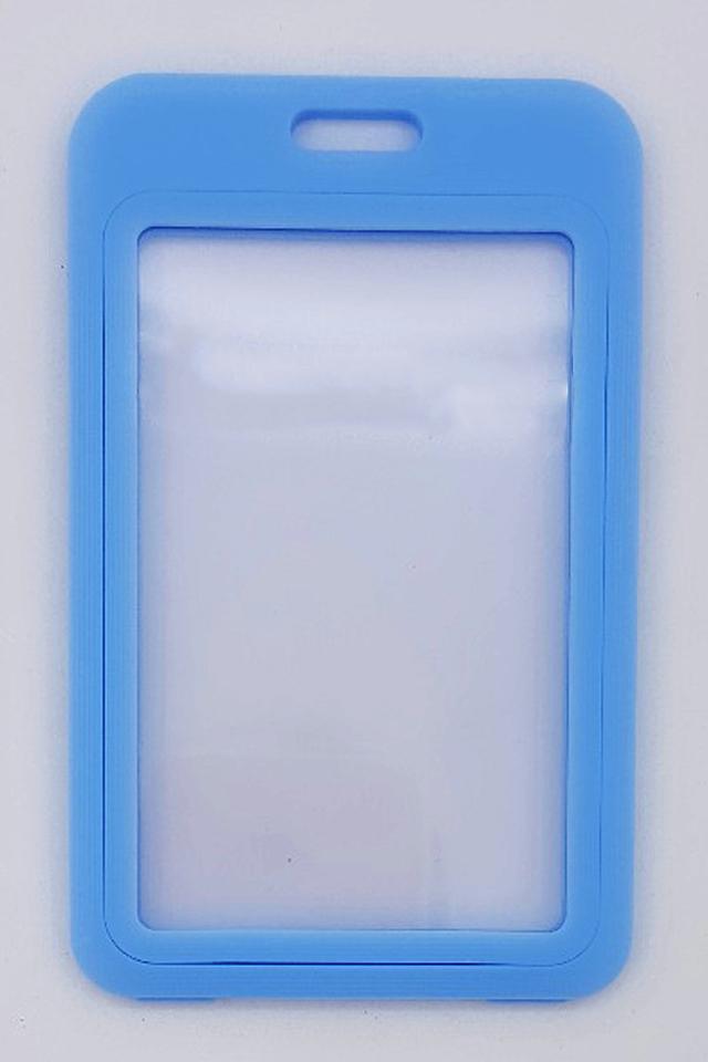 Blue Basic Hard Card Portrait