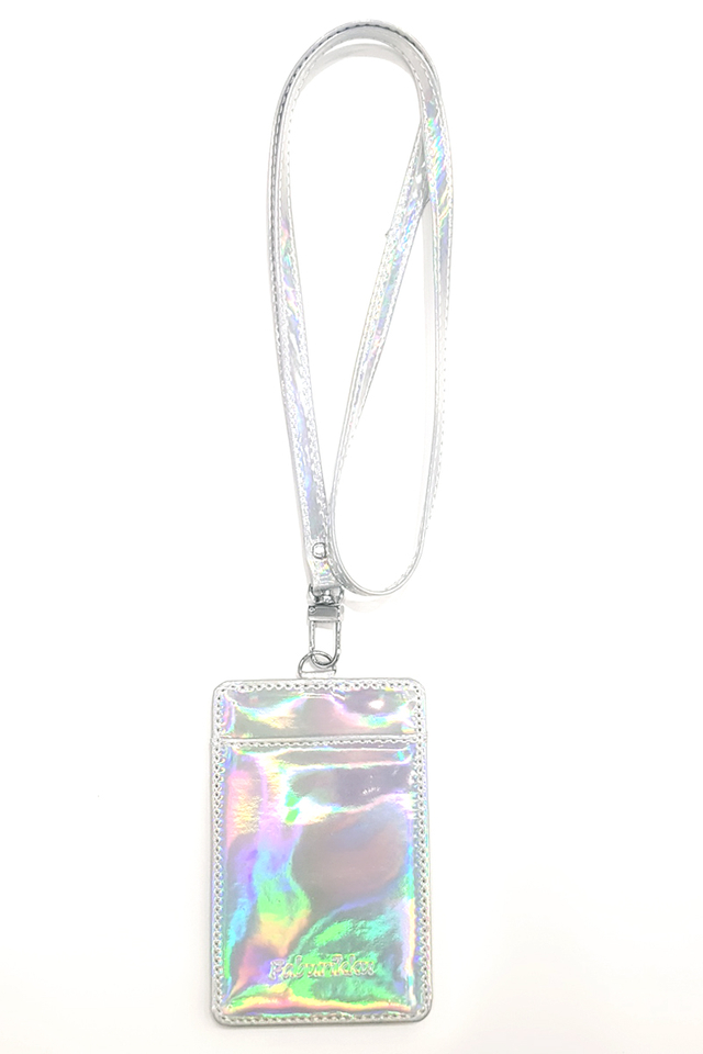 Hologram Cardholder With Lanyard Set