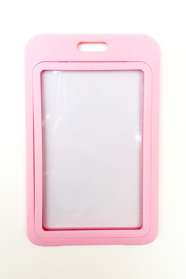 Pink Basic Hard Card Portrait