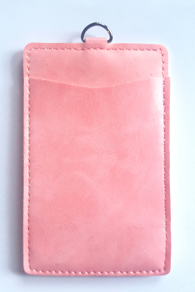 Puffy Deluxe Cardholder Pink