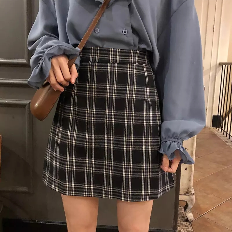 Othello Check Skirt (3 colours)