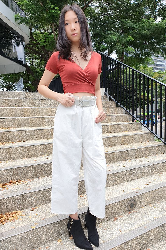 Seri Belted High Waist Pants (3 colours)