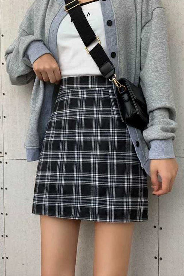 Othello Check Skirt (2 colours)
