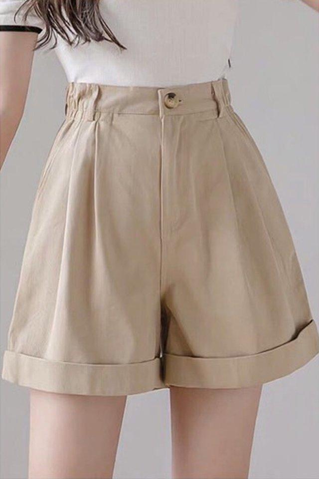 Kasey Ruffle Cuff Shorts (5 colours)