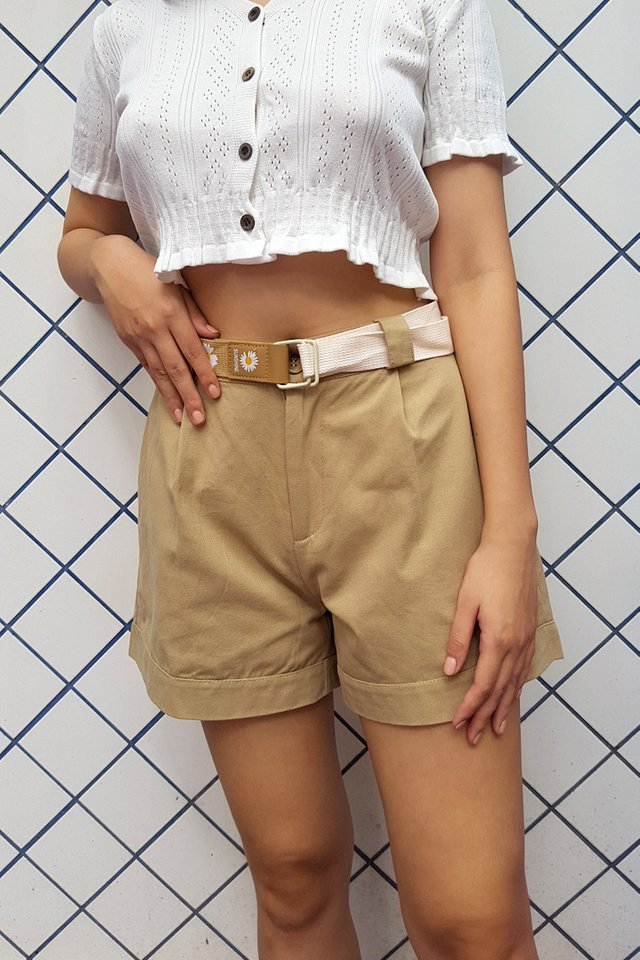 Sunflower Belt Utility Shorts (3 colours)