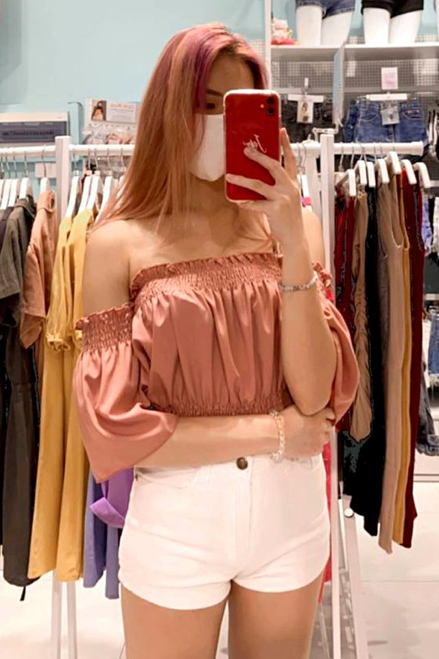 Genie Off Shoulder Top (6 Colours)